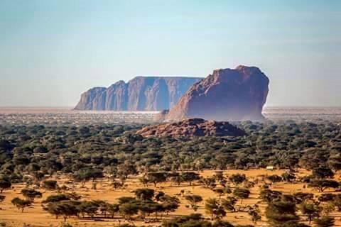 patrimoine Mondial situé au Tchad.