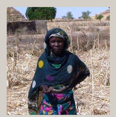 une cultivatrice du Guéra(photo OXFAM)