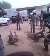 bavure policière au tchad