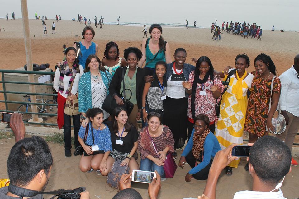 les Mondoblogueuses de la formation Dakar 2015