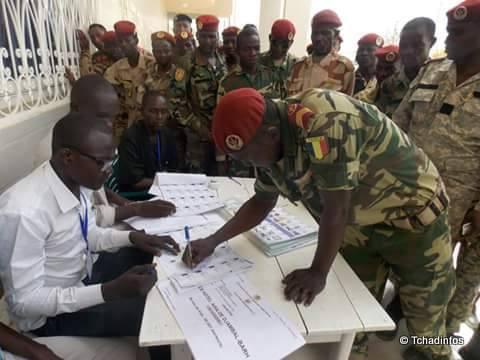 vote des militaires