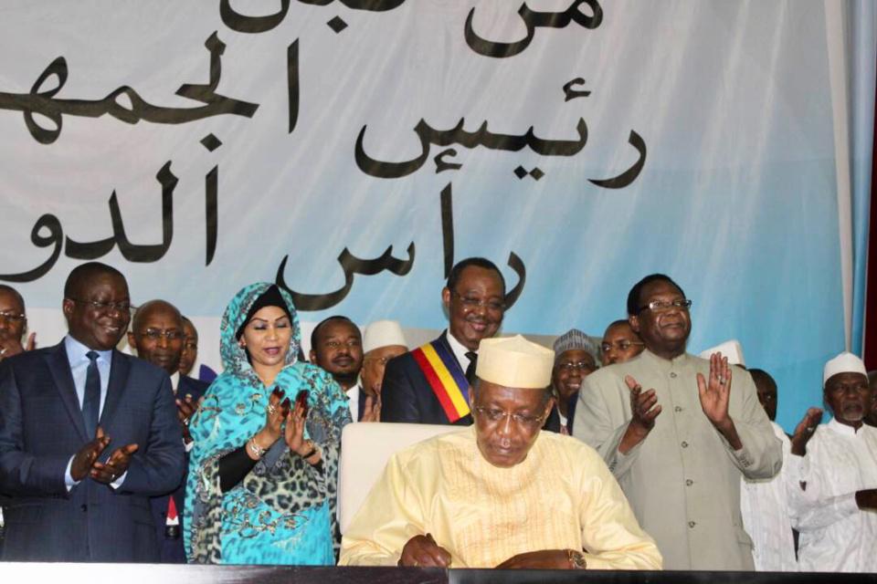 Malgré les voix qui se sont levées contre la révision de la constitution, le pouvoir de N'Djaména a tenu jusqu'au bout pour promulguer la 4ème Republique.