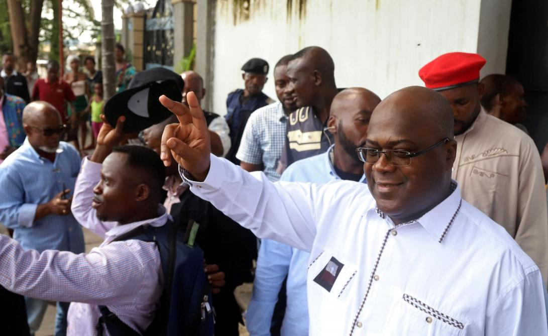 l'éléction de l'opposant Félix en RDC montre-t-elle que la démocratie visite l'Afrique Centrale
